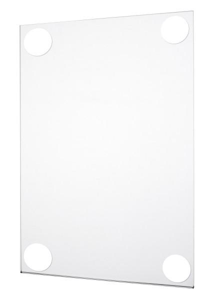 Acrylglas Plakattasche selbstklebend SP in U-Form