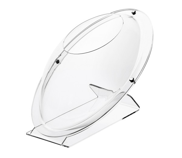 Ovale Acrylschütte