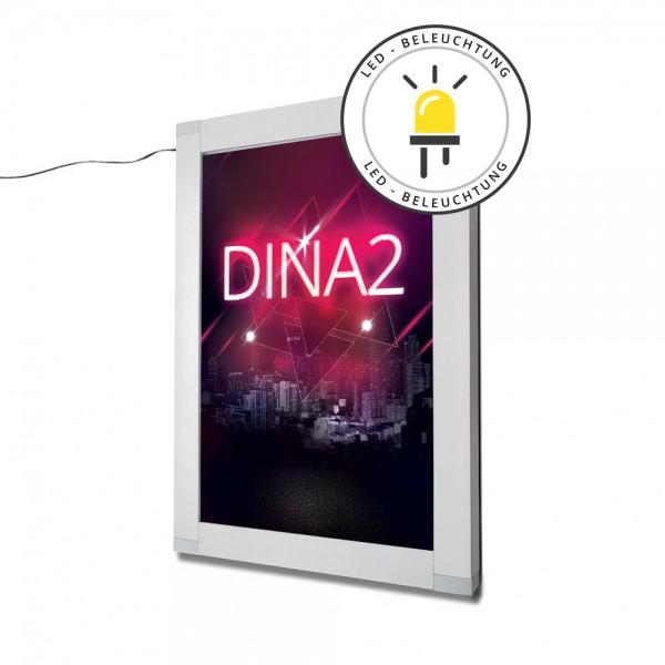LED Plakatschaukasten DT