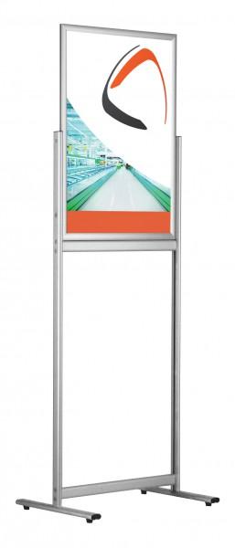 Boden-Plakatständer Slide In