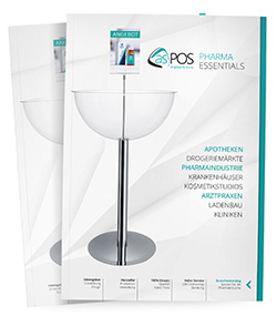 asPOS Display Pharma Essentials Katalog
